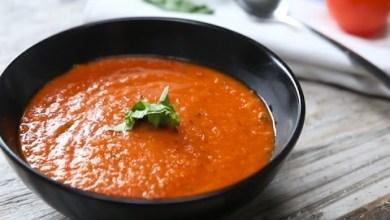 Photo of طريقة عمل شوربة الطماطم المشوية من المنزل