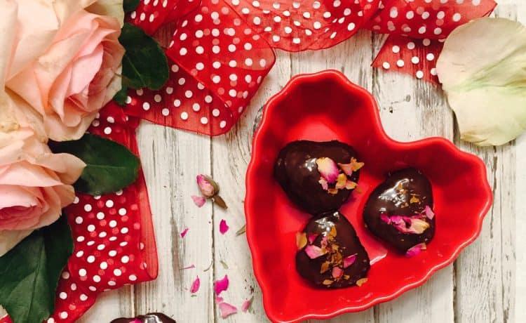طريقة عمل مينى كب كيك قلوب الشوكولاته