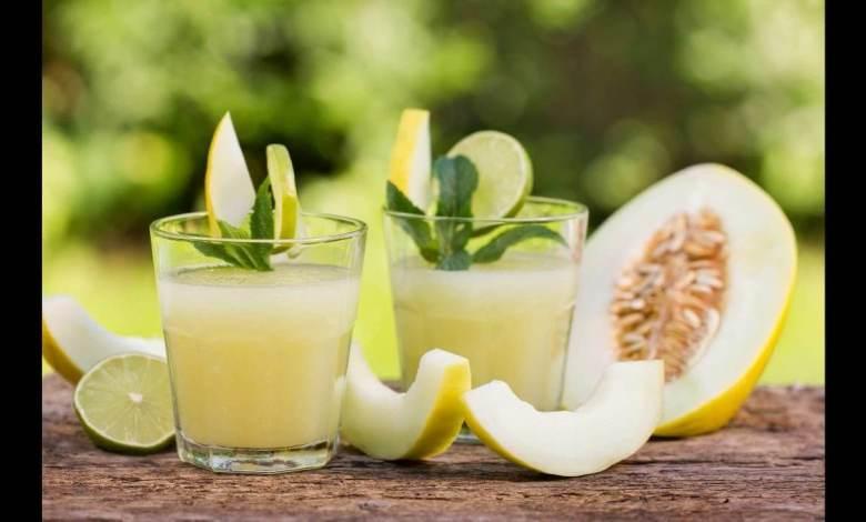 طريقة عمل عصير الشمام بالحليب