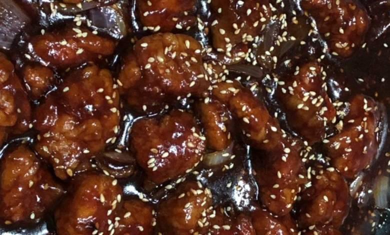 طريقة عمل الدجاج الصيني بالصويا صوص