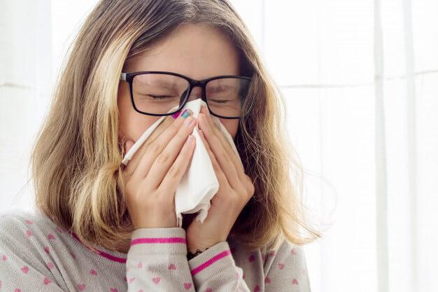 علاج نزلات البرد الحادة بالاعشاب
