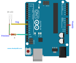 Driving an Infrared Led directly from an Arduino Pin