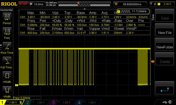 ESP8266 NodeMCU uPWM NEC IR Signal