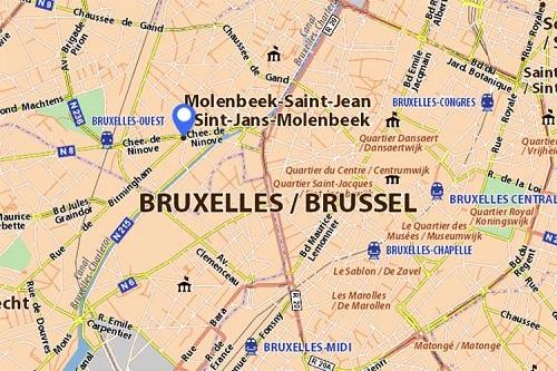 ΧΑΡΤΗΣ - Molenbeek, Βέλγιο