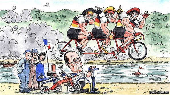 Η πρωσική αλαζονεία και η Γαλλία