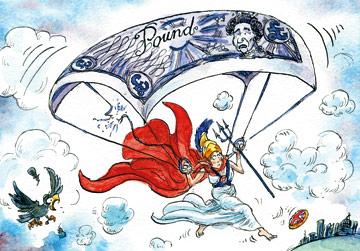 ΕΙΚΟΝΑ - Βρετανική λίρα Ο πόλεμος της στερλίνας