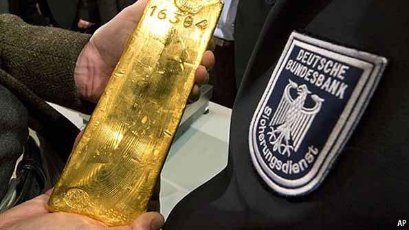 Ο γερμανικός χρυσός και οι Η.Π.Α.