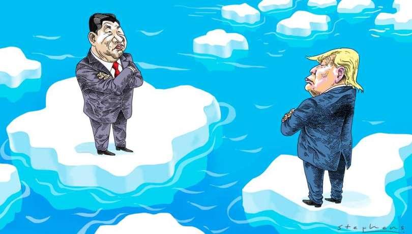 Η απειλή σύγκρουσης Η.Π.Α. και Κίνας