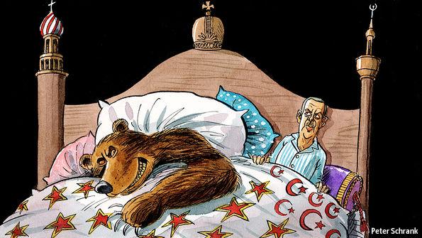 Η γοητεία του Putin και η κατάρρευση της Τουρκίας