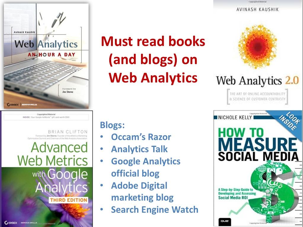must read books web analytics