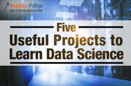 Five data science projects to learn data science