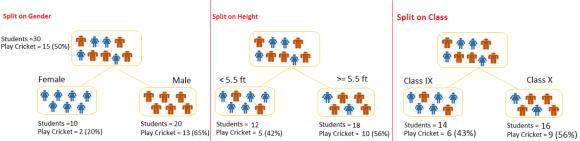 Decision Tree, Algorithms