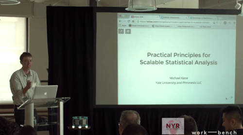practical principles for scalabe statistical analysis
