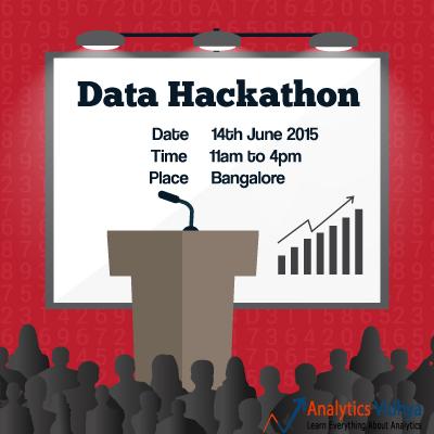 data hackathon bangalore analytics vidhya