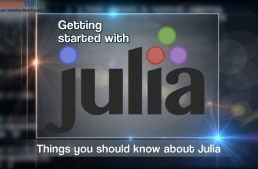 Getting started with Julia – a high level, high performance language for computing