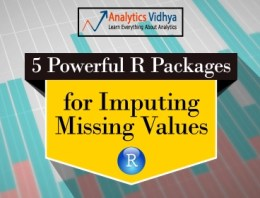 Tutorial on 5 Powerful R Packages used for imputing missing values
