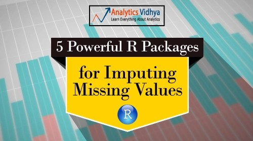 missing values imputation, powerful R packages