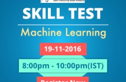 Solutions for Skilltest Machine Learning : Revealed