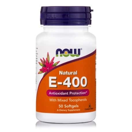 E-400 IU NATURAL, NON-GMO | 50 SOFTGELS