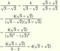 Rationalize Denominators of Radical Expressions
