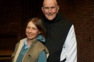 Cynthia Bourgeault and Thomas Keating, two of the leading teachers of Centering Prayer in our time.