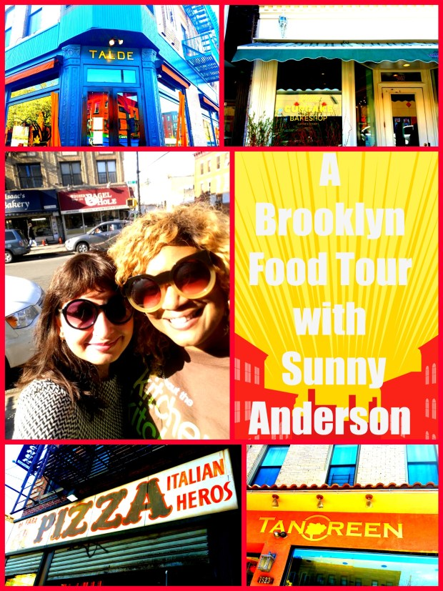 A Brooklyn's Best Food Tour With Sunny Anderson