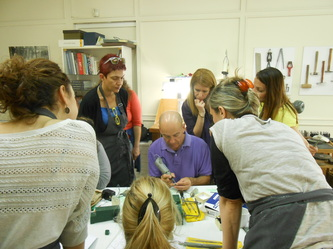 SEMINAR OF CASTING JEWELRY & MICRO SCULPTURE / 9th of November-11th of January 2014