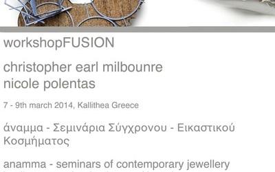 – FUSION – τριήμερο σεμινάριο με την Nicole Polentas & τον  Christopher Earl Milbourne 7-9 Μαρτίου 2014
