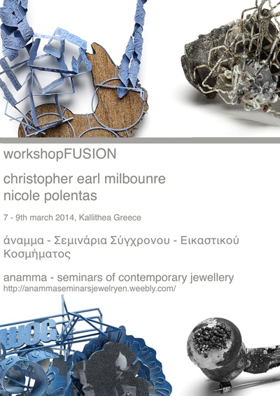 – FUSION – 3 day workshop with Nicole Polentas & Christopher Earl Milbourne  7-9th March 2014