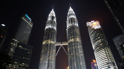 A few days in Kuala Lumpur, and of course we went to see the famous twin Petronas towers
