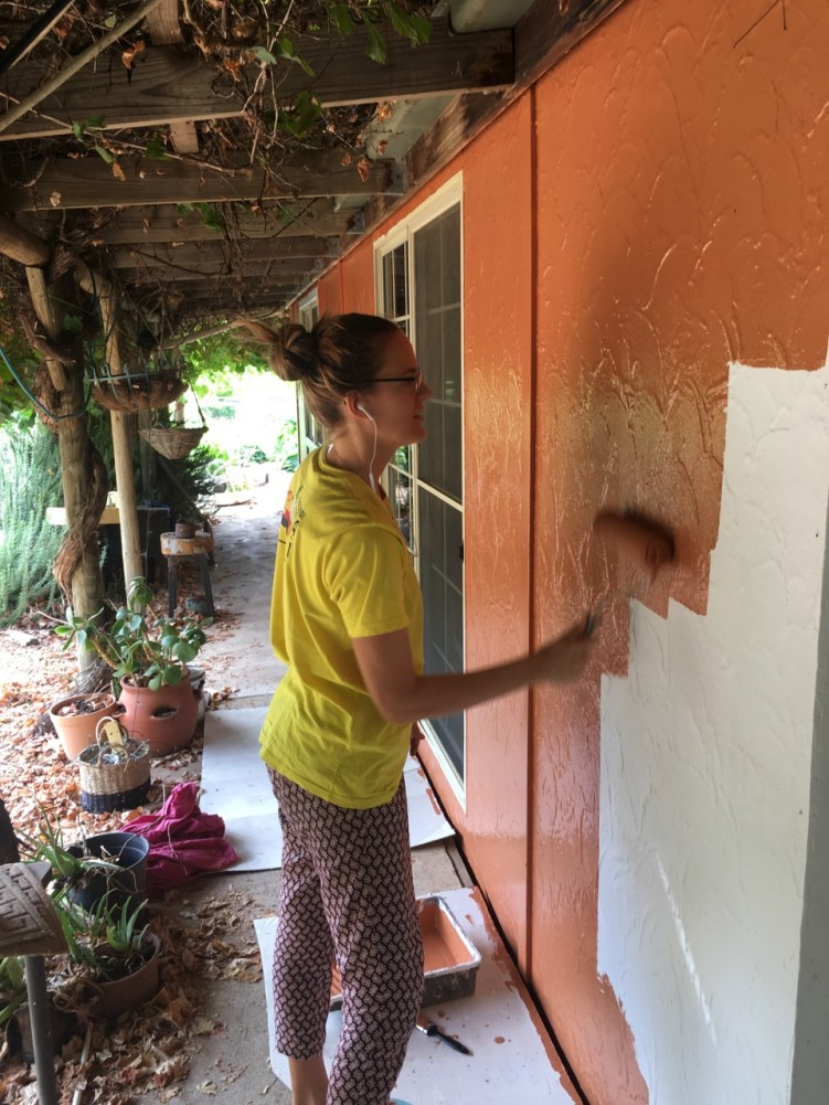 ...while ieva was discovering a new career of painter