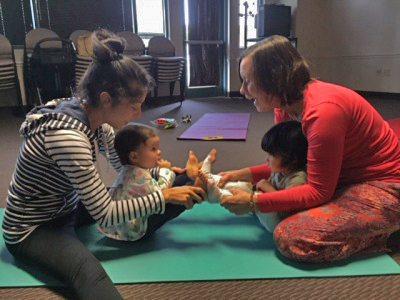 postnatal and kids yoga. anandadallas.org