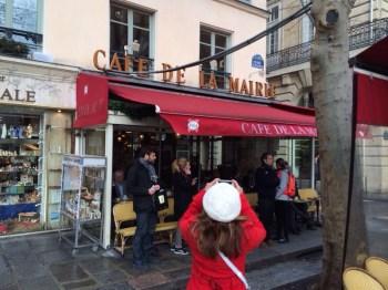 Fotografando o Café de la Mairie