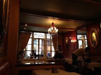 Interior do Le Procope