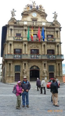 O Prédio do Ayuntamiento (Prefeitura) de Pamplona