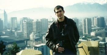 Dan, num dos mirantes do Cerro