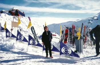 Em Valle Nevado!