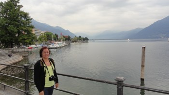 Lago Maggiore visto de Locarno