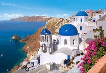 Santorini Grécia)