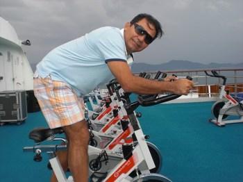 San no spinning do navio. Essa parte eu adorava!