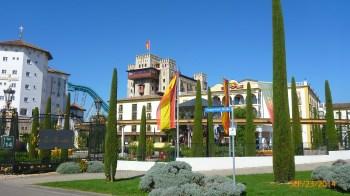 Hotéis dentro do parque
