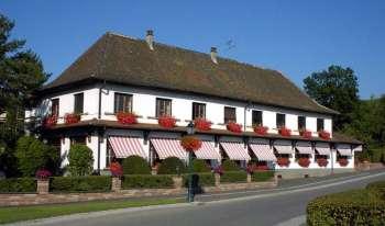 A fachada do restaurante (entrada do hotel). Foto do site oficial.