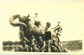 O Boi a Cobra em Paulo Afonso - a galera toda, só faltou minha tia que estava batendo a foto (?)