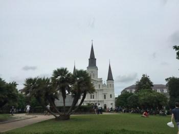A Praça e a Catedral ao fundo
