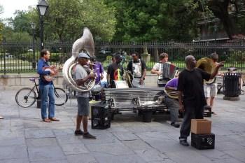 Música pela Praça (Jackson Sq.)