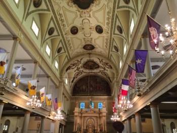 Interior da Catedral St Louis