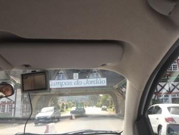 Chegando em Campos do Jordão...