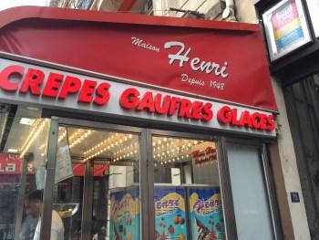 Podem comer crepes aí! Recomendo ;-)
