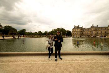O lago do Jardim