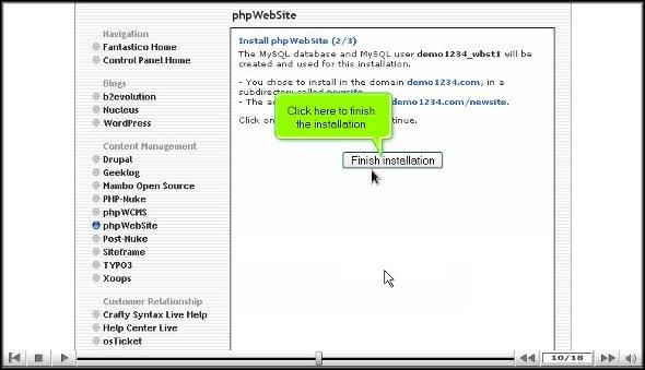 phpwebsite